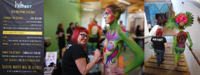 miss sparkles body painting devon